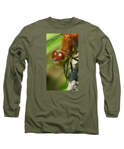 Long Sleeve T-Shirt featuring the photograph Dragonfly by Bruce Carpenter