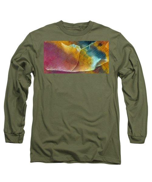 Earth Portrait 001 Long Sleeve T-Shirt