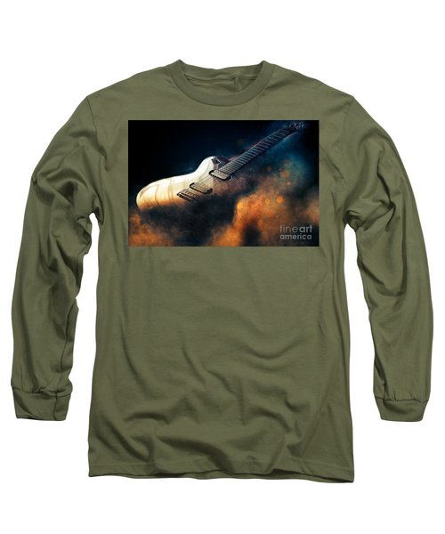 Electric Guitar Art Long Sleeve T-Shirt