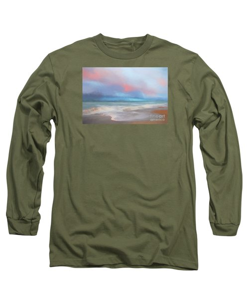 Emerald Isle North Carolina Long Sleeve T-Shirt by Mim White