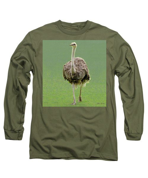 Emu Long Sleeve T-Shirt by Ellen Henneke
