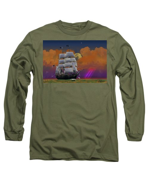 Evening Return For The Elissa Long Sleeve T-Shirt by J Griff Griffin