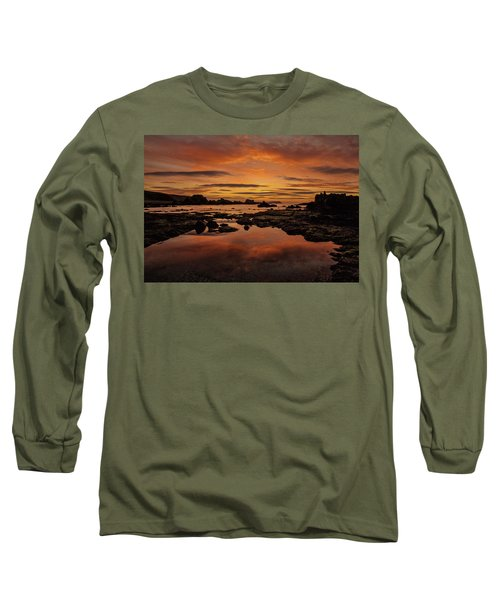 Evenings End Long Sleeve T-Shirt by Roy McPeak