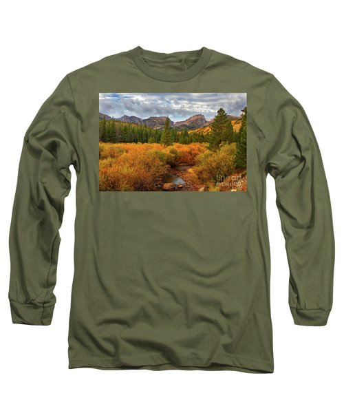 Fall In Rocky Mountain National Park Long Sleeve T-Shirt by Ronda Kimbrow