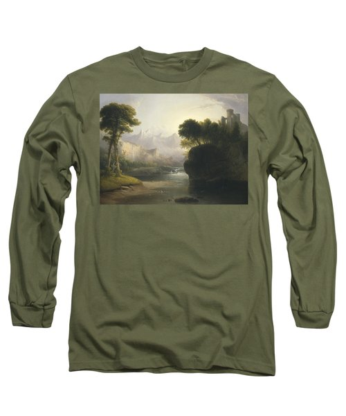 Fanciful Landscape Long Sleeve T-Shirt