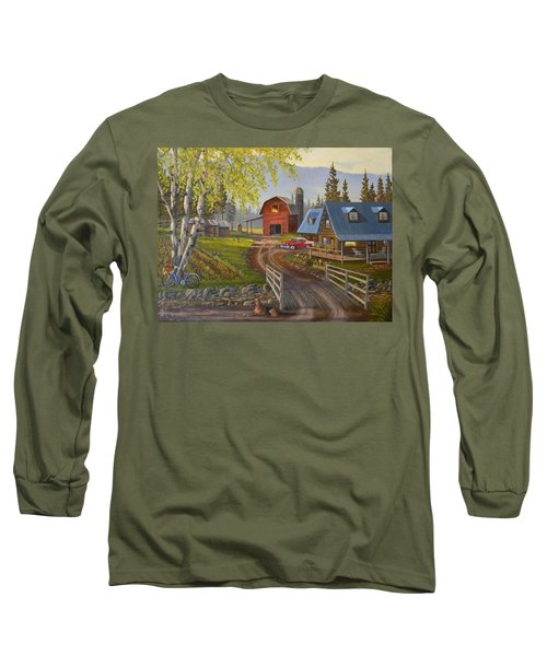 Five Oclock Coffee Long Sleeve T-Shirt