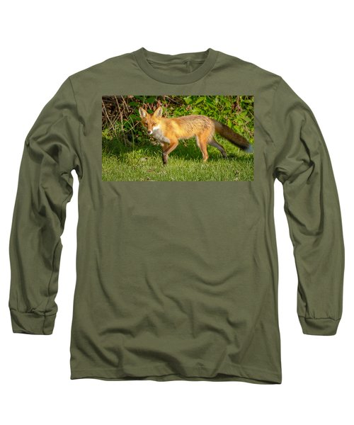 Fox Portrait  Long Sleeve T-Shirt