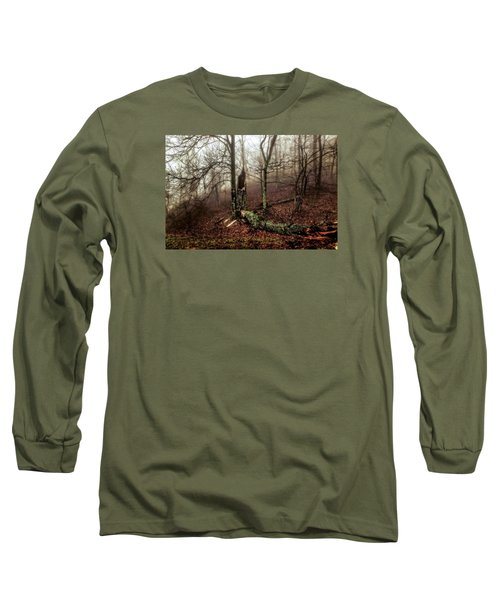 Fractured In Fog Long Sleeve T-Shirt