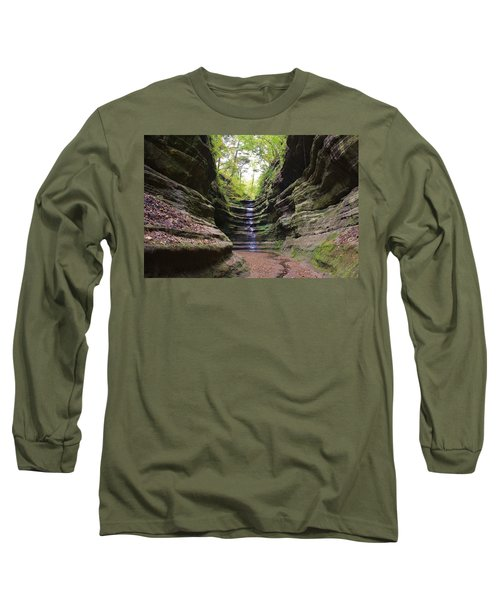 French Canyon Long Sleeve T-Shirt by Bruce Bley