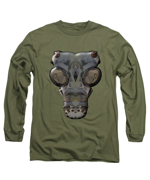 Gas Mask Long Sleeve T-Shirt