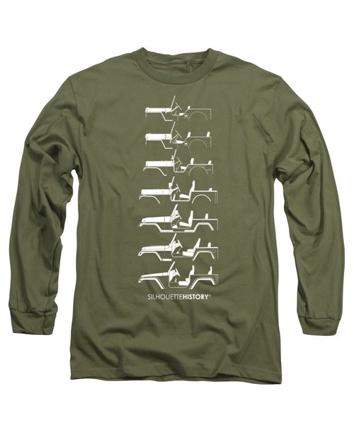 General Purpose Silhouettehistory Long Sleeve T-Shirt