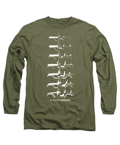 General Purpose Silhouettehistory Long Sleeve T-Shirt