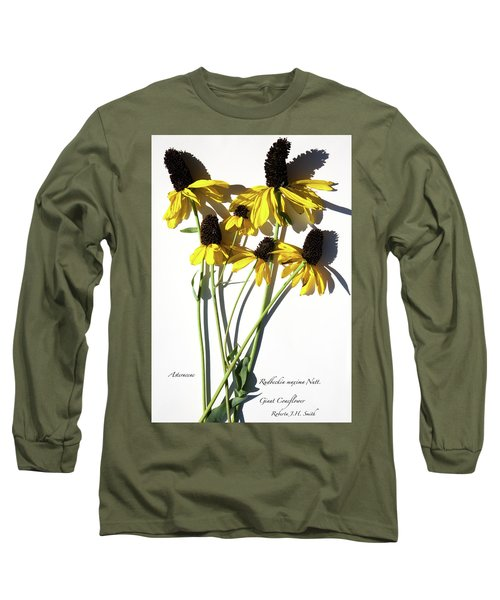 Giant Coneflower Long Sleeve T-Shirt