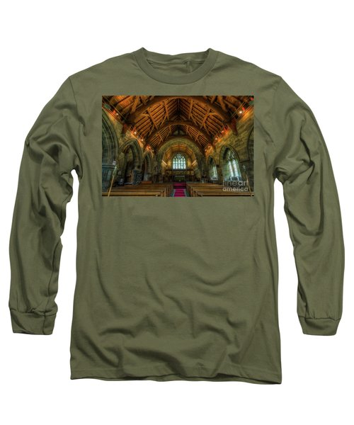 Gods Light Long Sleeve T-Shirt by Ian Mitchell