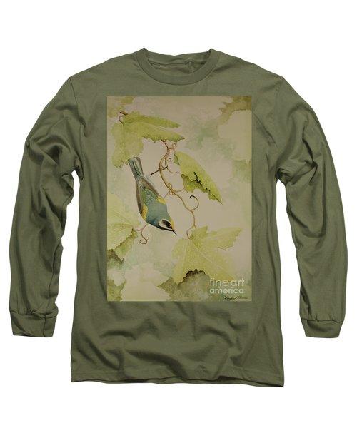Golden-winged Warbler Long Sleeve T-Shirt