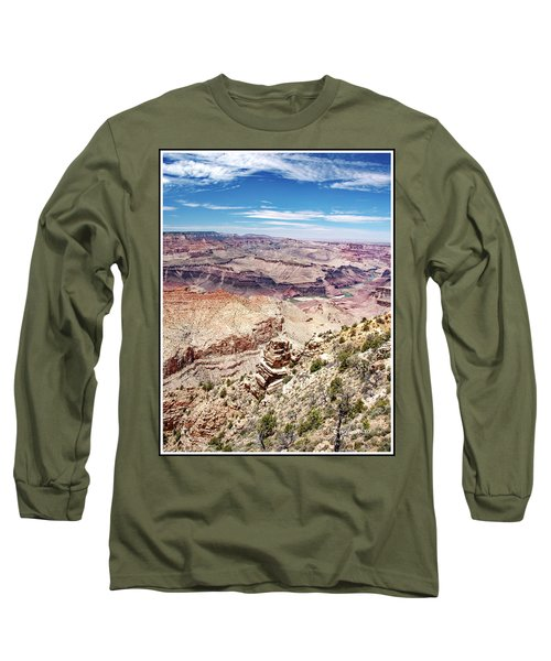 Grand Canyon View From The South Rim, Arizona Long Sleeve T-Shirt