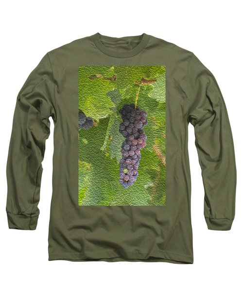 Grape Fruit Long Sleeve T-Shirt