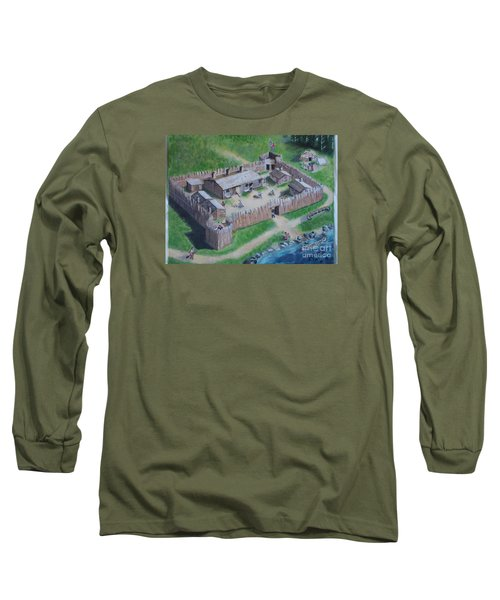 Great Lakes North Trading Post Long Sleeve T-Shirt