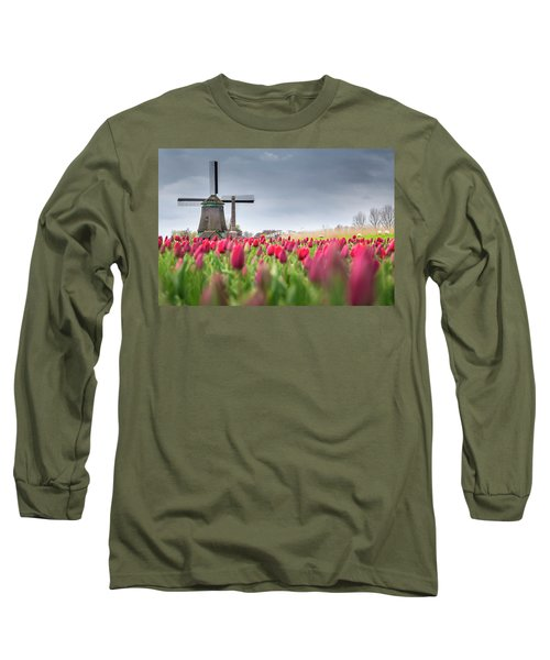 Holland Windmill Long Sleeve T-Shirt