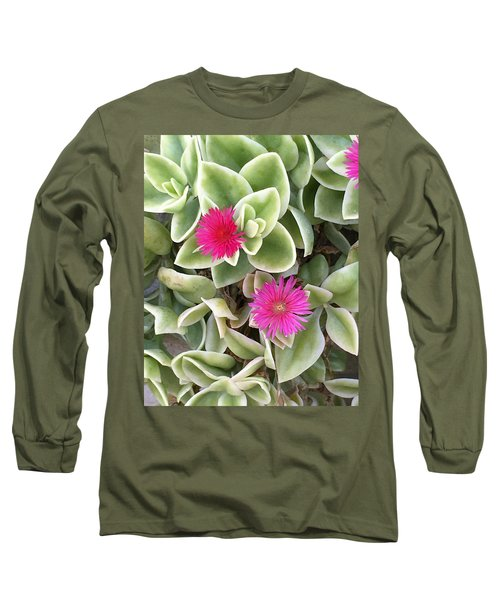 In The Pink Long Sleeve T-Shirt by Kay Gilley