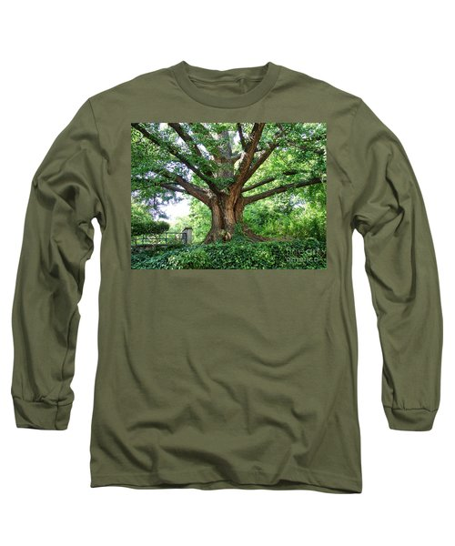 Long Sleeve T-Shirt featuring the photograph Inwood Ginkgo  by Cole Thompson