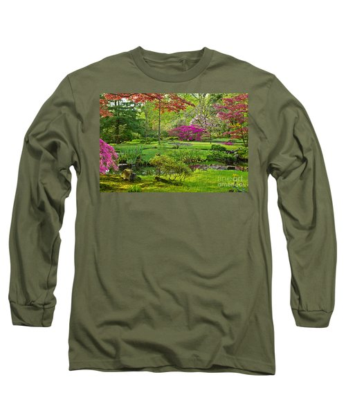 Japanese Garden Long Sleeve T-Shirt