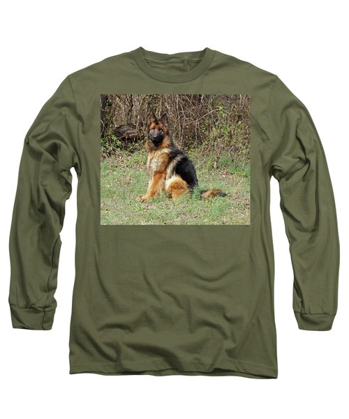 Long Sleeve T-Shirt featuring the photograph Jessy by Sandy Keeton
