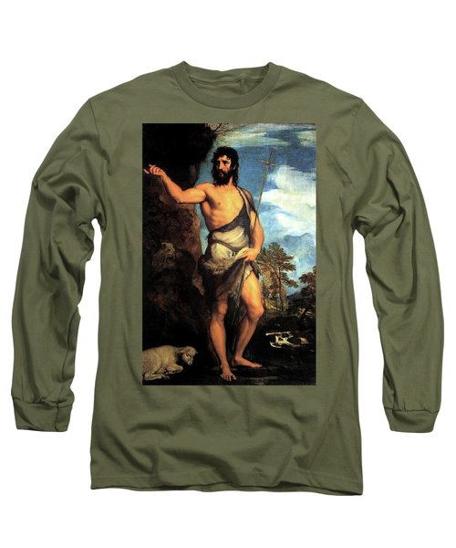 John The Baptist Long Sleeve T-Shirt