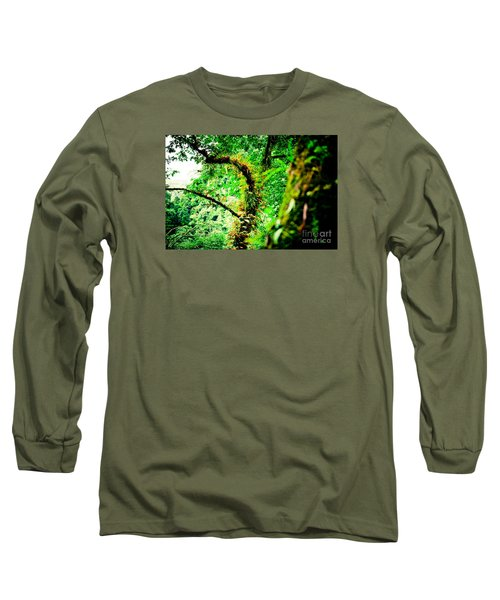 Jungle Annapurna Yatra Himalayas Mountain Nepal Long Sleeve T-Shirt
