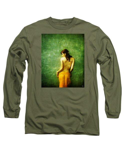 Just A Back Long Sleeve T-Shirt