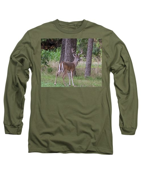Large Buck Long Sleeve T-Shirt