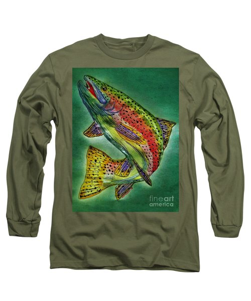 Leaping Trout Long Sleeve T-Shirt
