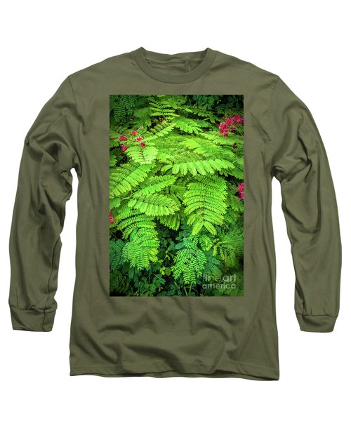 Long Sleeve T-Shirt featuring the photograph Leaves by Charuhas Images