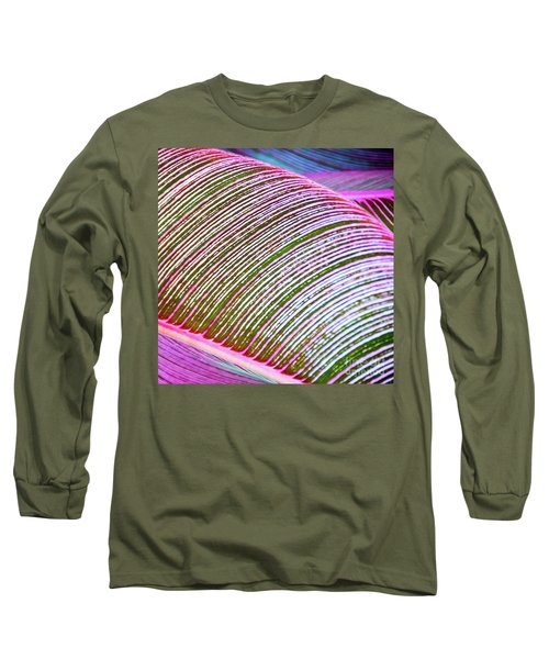 Leaves In Color  Long Sleeve T-Shirt