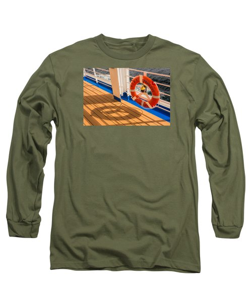 Life Saver Long Sleeve T-Shirt by Lewis Mann
