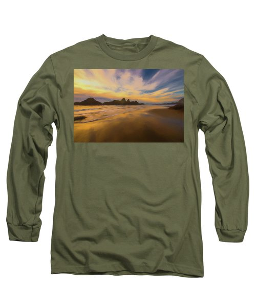Lines In The Sand 2 Long Sleeve T-Shirt