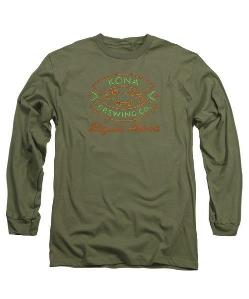 Liquid Aloha Long Sleeve T-Shirt by Dan McManus
