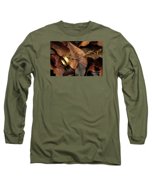 Long Sleeve T-Shirt featuring the photograph Lost  by Gary Bridger