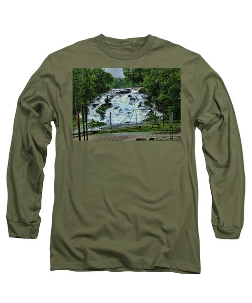 Lots Of Rain Long Sleeve T-Shirt by Rick Friedle