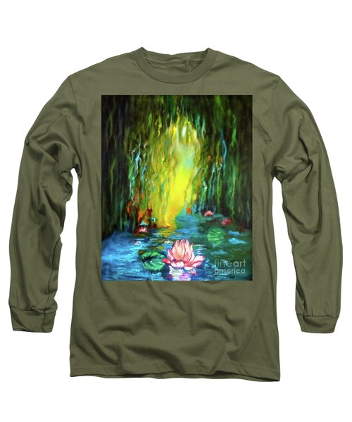 Lotus And Lily Pads Long Sleeve T-Shirt