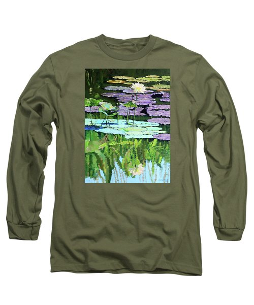 Lotus Reflections Long Sleeve T-Shirt