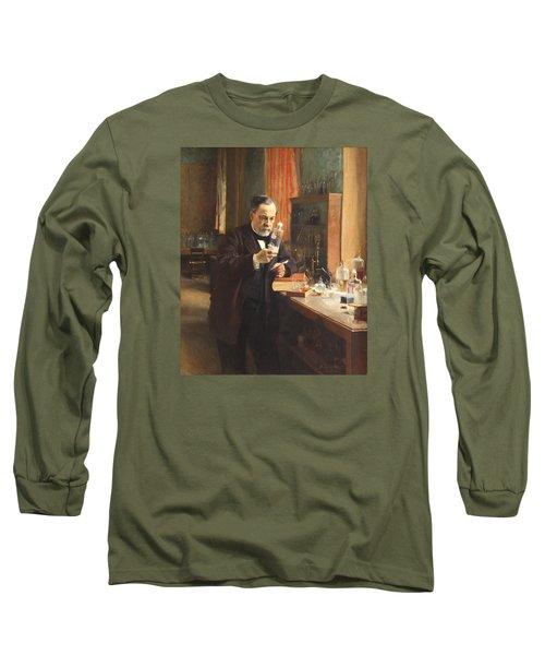 Louis Pasteur Long Sleeve T-Shirt by Albert Edelfelt