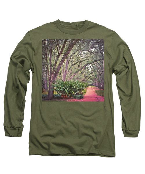 Love The #liveoak #trees And This Long Sleeve T-Shirt