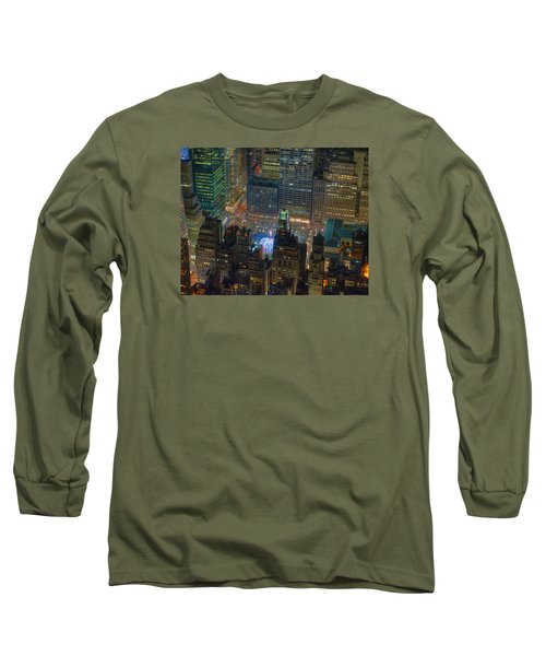 Manhattan Skyline 274 Long Sleeve T-Shirt