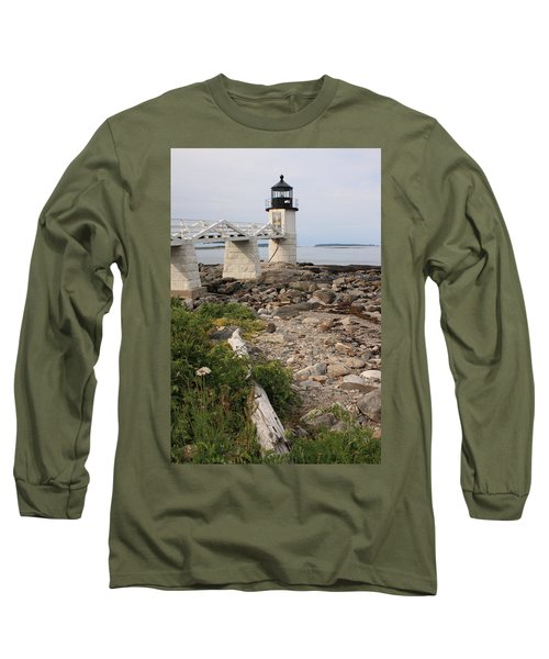 Marshall Point Lighthouse Long Sleeve T-Shirt