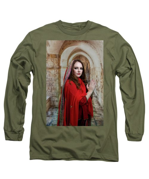 Mary Magdalene Long Sleeve T-Shirt by David Clanton