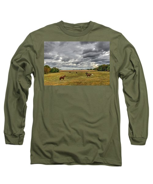 Maryland Pastures Long Sleeve T-Shirt