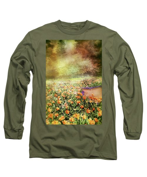 Long Sleeve T-Shirt featuring the photograph Masquerade by Diana Angstadt