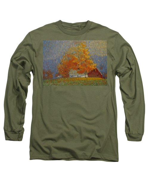 Middle Farm Foliage Long Sleeve T-Shirt