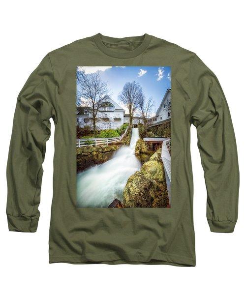 Mill Falls Long Sleeve T-Shirt by Robert Clifford